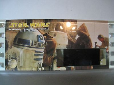 STAR WARS -R2-D2 EDITION #10773- Authentic 70mm Film Cell-