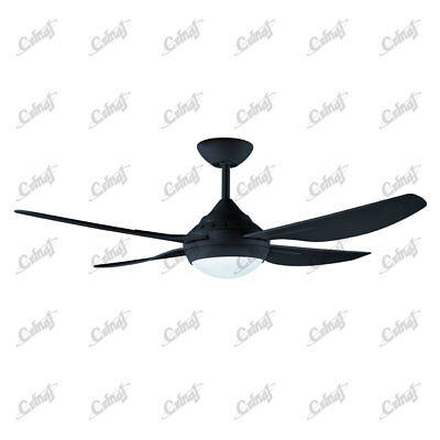 NEW Howrah Ceiling Fan with Light - Black Lighting Electrical