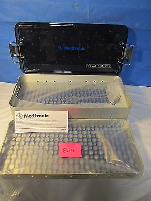 Medtronic Sterilization Tray Container (New)