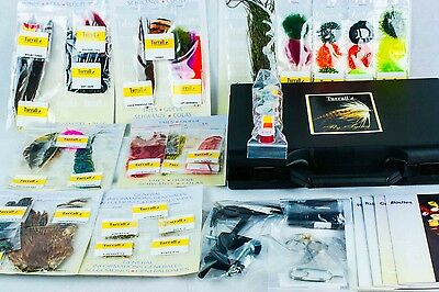 Turrall Premium Fly Tying Kit - Includes Vice, Tools & Materials