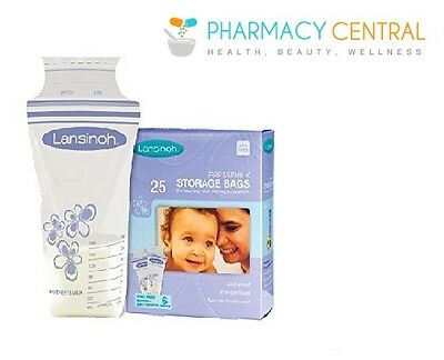 Lansinoh Breastmilk Storage Bags 25s