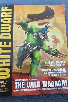 WHITE DWARF WEEKLY magazine issue 129 Age Of Sigmar Orcs Games Workshop