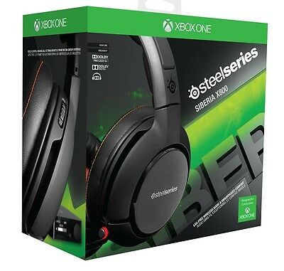 SteelSeries Siberia X800 Wireless 7.1 Gaming Headset for PC XBox One/360 PS4