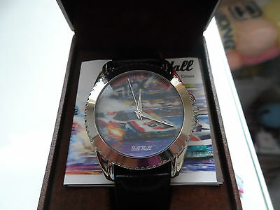 JOHN FORCE  FUNNY CAR DRIVER WRISTWATCH by BILL HALL. Limited Ed. of 1274  BOXED