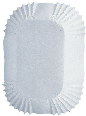 """Petite Loaf Cups-White 50/Pkg 1.25""""X3.25"""""""