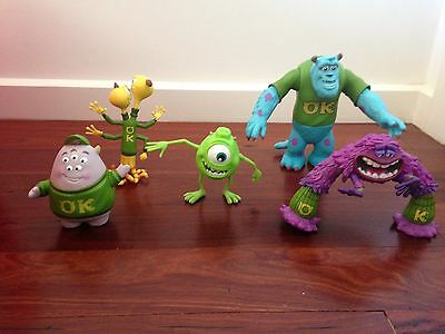 Monsters Inc Set Of 6 Figurines As New