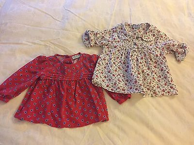Gorgeous Baby Girl Next Blouses 12-18 Months