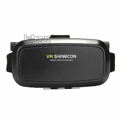 VR SHINECON 3D Goggles VR Glasses Virtual Reality Headset 3D Movies Games Device