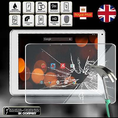 "Tempered Glass Screen Protector For Argos Bush Spira B1 10"" Tablet"