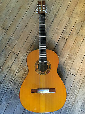Vintage 1970 B&m 'concert' Hand Made By Sadao Yairi Classical Guitar
