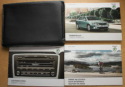 Skoda Octavia Handbook Owners Manual Wallet 2009-2012 Pack 12737