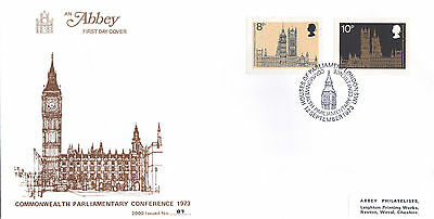 Ltd Edition Abbey Fdc-C/wealth Parliamentary Conference-Houses Of Parliament Shs