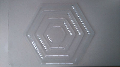 HA18 HA21 Large Hexagonal Condensation Tray Fish Tank Clear Plastic Cover