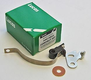 Lucas Contact Set. Fits all side point models (1963-67)4.C.A ,BSA C15 (1965-)