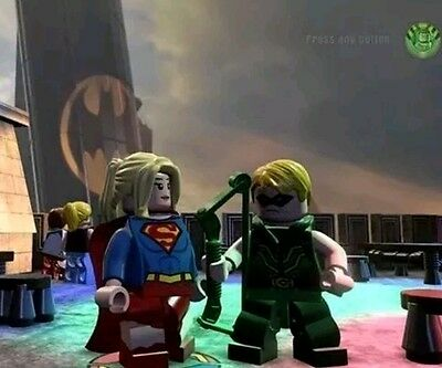 Supergirl and Green Arrow  (compatible with Lego dimensions)