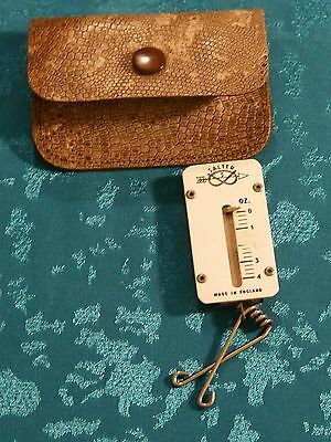 Vintage Purse Letter Scales And Case