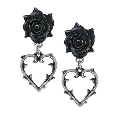 Alchemy Gothic Wounded Love Pewter Pair of Earrings BRAND NEW