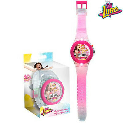 Orologio Digitale da Polso Soy Luna Con Luce LED in Scatola Regalo Kids Euroswan
