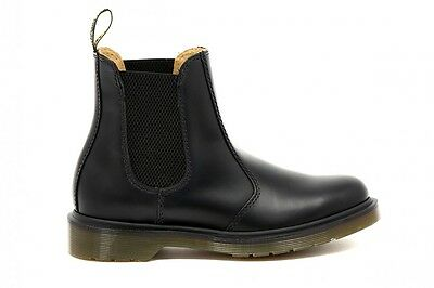 Dr Martens - Donna  Chelsea Boot  Black Smooth 10297001 Nero Fw1617