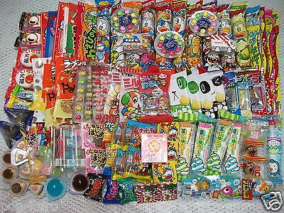 Japanese Dagashi Box Set japan popular candy snack sweets lots /100pcs AIR MAIL