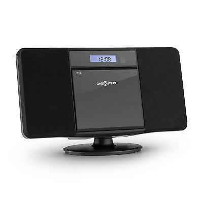 Oneconcept V-13 Bluetooth Stereo Musikanlage Ukw Radio Mp3 Cd Player Usb Schwarz