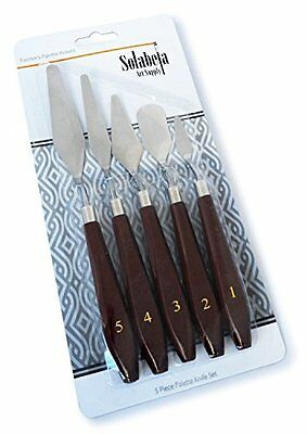 Solabela Painter''s Palette Knives and Spatulas. Set of 5