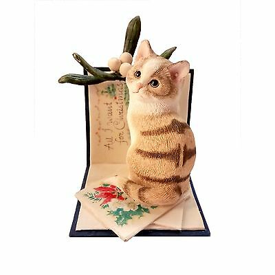 Country Artists - Kitten Tales - All I Want For Xmas Figurine
