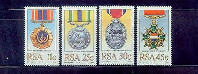rsa/1984 military decorations medals s/s /mnh.good condition