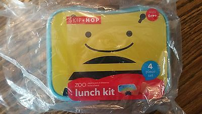 Skip Hop Bee 4 Piece Zoo Lunch Kit
