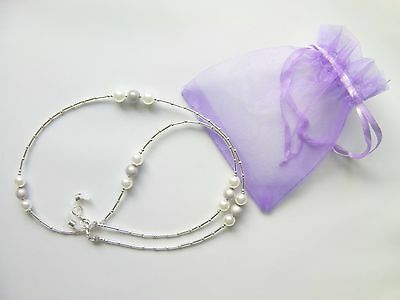 Glasses Chain Spectacle Lanyard Pearl Necklace Holder Beaded Hand Crafted