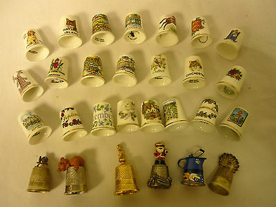A Collection of Thimbles  Thames hospice 114R 2