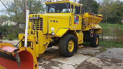 FWD PLOW / SALT TRUCK Ready to work!! & other