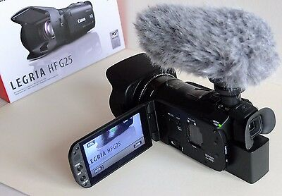 Canon Legria HF G25 32 GB Camcorder with DM 100 Microphone