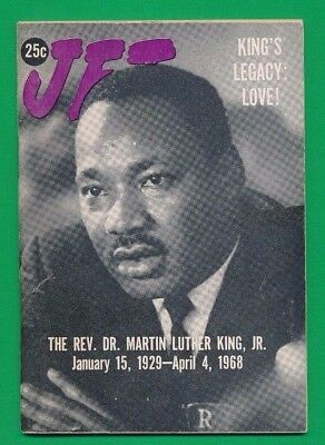 Jet magazine Martin Luther King Jr Memorial Issue 1968 NEAR MINT CONDITION