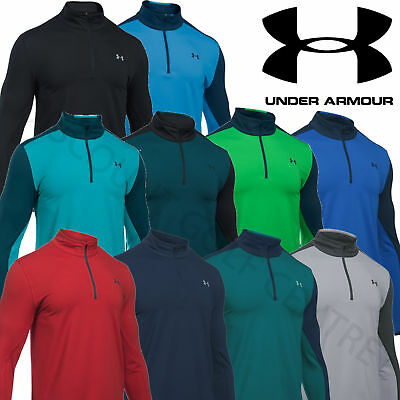 Under Armour Mens 2016 UA Storm Midlayer 1/4 Zip Golf Pullover Sweater - 1286478