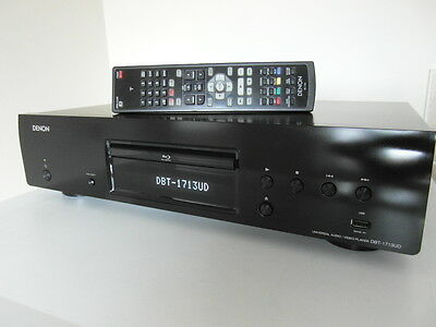 FULL RTB WARRANTY Denon DBT-1713UD Smart 3D Blu-Ray DVD Player with Network