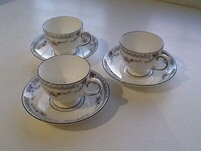 Wedgwood Rosedale Tea cups and saucers