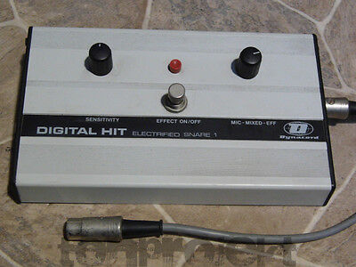 RARITÄT vintage DYNACORD DIGITAL HIT ELECTRIFIED SNARE Germany electric drum