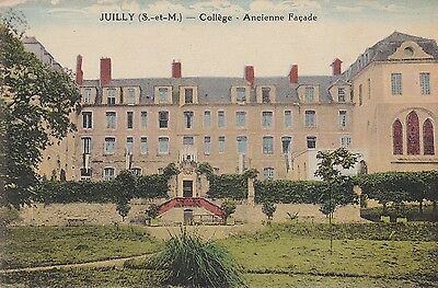Cpa Juilly College Ancienne Facade