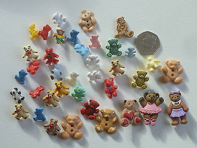 60 Various Children'S Buttons.