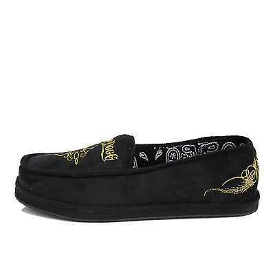 Snoop Dogg House Shoes Mens Black