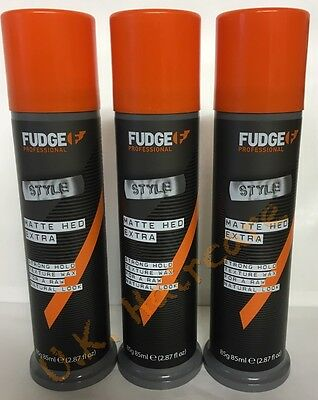 FUDGE HAIR MATTE HED EXTRA STRONG 85g  x 3