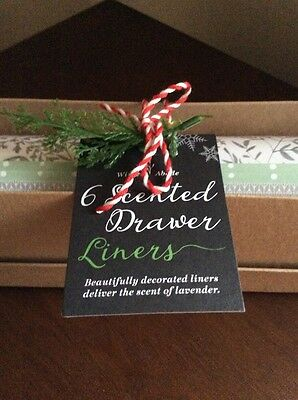 M&S scented drawer liners Lavender  christms present NEW gift marks & spencer
