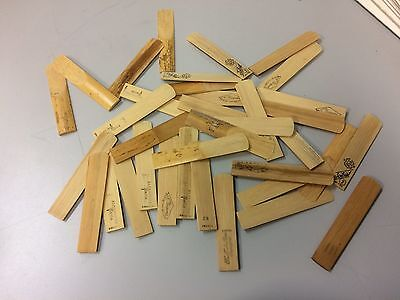 Lot of Open Box Vintage Tenor Saxophone Reeds
