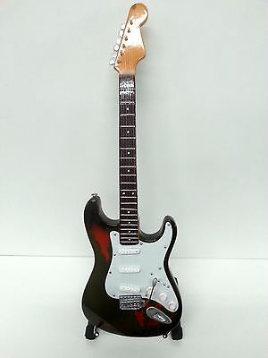 Rory Gallagher Guitar - Replica Miniature & Display Stand (UK Seller)