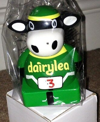 *brand New* Dairylea Racer Cow, Mooing Moo-Sical - Green Bmx Cow
