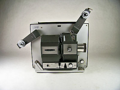 Bell and Howell Auto Load 466A 8MM / Super 8 Film Movie Projector ~ IOB