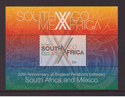 South Africa 2013 Diplomatic Relations with Mexico   set mint MNH set stamps