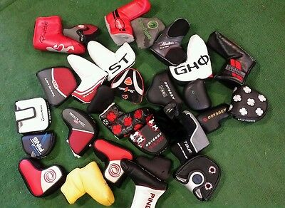 Lot 29 Putter headcovers Ping Taylormade Titleist