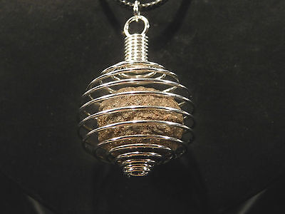 A Neat and 100% Natural MOQUI MARBLE made into a Pendant! from Utah 3.28 e
